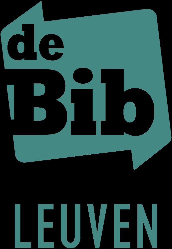 Logo de Bib Leuven groen